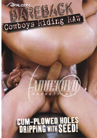 Bareback Cowboys Riding Raw