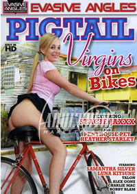 Pigtail Virgins On Bikes 1