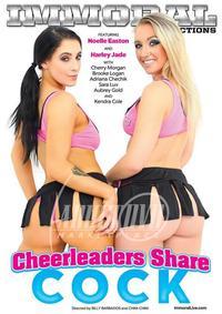 Cheerleaders Share Cock