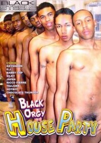 Black orgy party