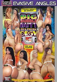 Big Bubble Butt Brazilian Orgy 5