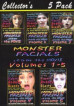 Monster Facials 5-Pack Vol. 1-5
